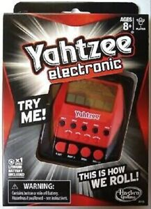 NEW HASBRO ELECTRONIC YAHTZEE CLASSIC BOARD GAME A2125