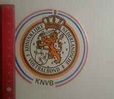 Aufkleber/Sticker: KNVB Koninklijke Nederlandsche Voetbalbond (26121625)