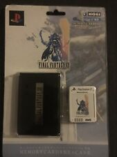Limited Edition Final Fantasy XII PS2 Memory Card W/Card Holder!!!! Look!!!!
