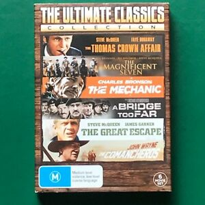 The Ultimate Classics Collection 6 Movie Set DVD - McQueen/Brynner/Bronson/Wayne