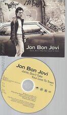 CD--JON BON JOVI --JANIE DON'T TAKE YOUR LOVE TO TOWN --PROMO