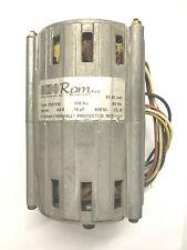 MOTORE ELETTRICO MONOFASE MARCA RPM TIPO C021105 115V 60HZ 180W 1710 GIRI COND.