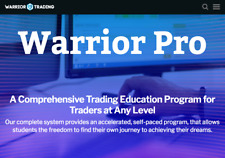 Warrior Trading Course Complete Pro System - 2020 Live Trading Value: $30,997