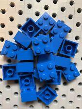 25 New Lego Bulk Lot 2x2 Blue Bricks Blocks 2 X 2
