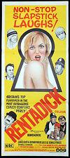 RENTADICK Original Daybill Movie poster Richard Briers British Comedy Julie Ege