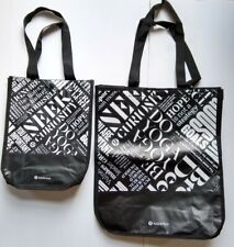 LOT OF 2 Lululemon Small And Large Reusable Shopping Bags