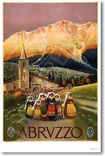 Abruzzo Italy - NEW Italian Travel European Artwork Print POSTER