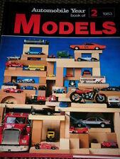 Año del automóvil Modelos 1983 Tekno Burago Mattel Minichamps Revell Tomy Nichimo