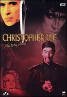 Christopher Lee 4 DVD Cofanetto Nuovo il trono di fuoco i Cinque Draghi D'oro