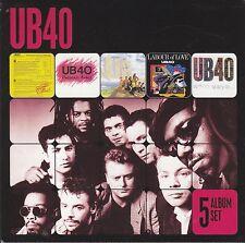 UB40 - 5 album set CD box