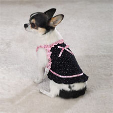 Pet Dog Clothes Dress, Ruffles & Ribbons Size X-Small