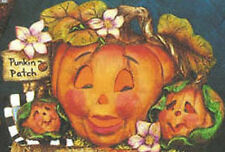 Ceramic Bisque Halloween Pumpkin Patch Lights