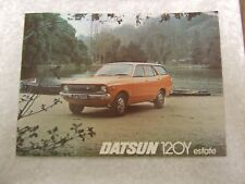 NISSAN DATSUN 120 Y ESTATE BROCHURE 1976 1 PAGES