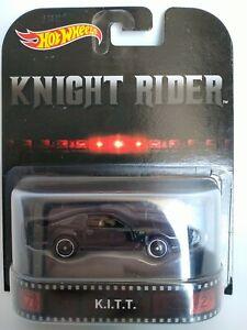 Hot Wheels Knight rider K.I.T.T. Real Riders Retro Entertainment