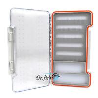 Magnetic Fly Fishing Box Flies Case Storage Waterproof Large Slim Lightweight