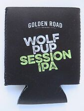 Beer Bottle Can Holder Koozie <> GOLDEN ROAD Brewing Wolf Pup IPA <> CALIFORNIA