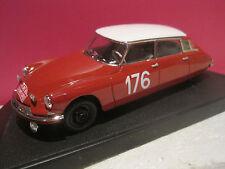 SUPERBE CITROEN DS 19 #176 WINNER RALLY MONTE CARLO 1959 VITESSE 1/43 NEUF BOITE