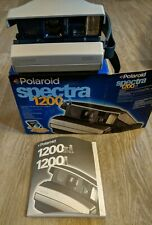 Vintage Polaroid Spectra 1200si f10 125mm Glass Coated Lens Instant Film Camera