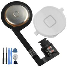 iPhone 4S Home Button with Flex Cable Assembly Replacement Part WHITE + Tools