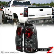1999-2002 Chevy Silverado GMC Sierra 1500 2500 3500 HD Smoke Tail Lights Lamps