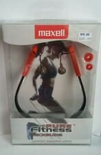 Maxell Pure Fitness NeckBuds Sweat Resistant, Hanging neakbuds, comfort fit