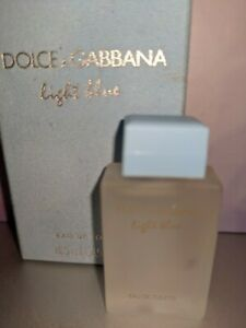 NIB DOLCE&GABBANA MINITURE PERFUME, LIGHT BLUE, 0.15OZ/4.5ML, NOT SPRAY