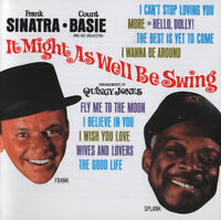 FRANK SINATRA & COUNT BASIE It Might As Well Be Swing 2010 remaster CD album NEW