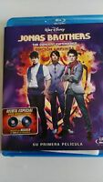 JONAS BROTHERS THE CONCERT EXPERIENCE BLU-RAY WALT DISNEY CASTELLANO E INGLES