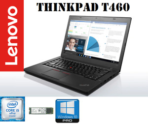 """Lenovo ThinkPad T460 14"""" ULTRABOOK· Intel i5-6300U· 8GB· M.2 SSD 128GB · W10P"""