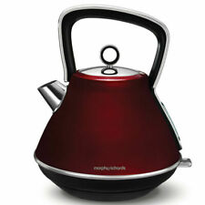 Morphy Richards Evoke Core 1.5L Pyramid Kettle - Red
