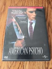 American Psycho (Dvd, 2000, Rated, Widescreen)