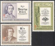 Finlandia 1979 tuberculosis/médico/salud/tb/científicos/Libros 3v Set (n13607a)