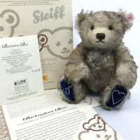 Steiff Buckingham Teddy Bear Diamond 60th Eliz Philip Mohair 2007 LE Cert Box