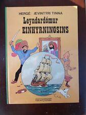 Tintin -  TINTIN ISLANDAIS Le secret de la licorne FJÖLVI EO 1976 RARISSIME NEUF