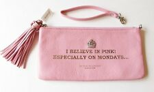 "Brighton MFIL ""I Believe in Pink"" Leather Pouch Purse with a Tassel - NWT"