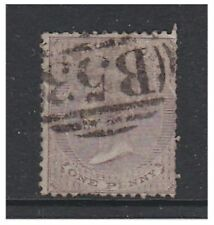 More details for mauritius - 1860/3, 1d purple-brown (no wmk) stamp - g/u - sg 46
