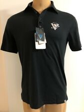 LEVELWEAR Pittsburgh Penguins Reign Modern Fit Polo Shirt Men's Size S NWT