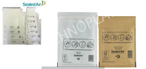 Mail Lite Padded Envelopes Bubble Mailer Bags White or Gold A000 B00 C0 D1 F3 E2
