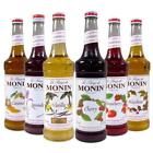 Monin Premium Flavored Syrups - 750ml Glass Bottles for Coffee, Soda and more!!!