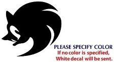 "Sonic The Hedgehog Funny Game TV Movie Vinyl Sticker Decal Car Window Wall 6"""