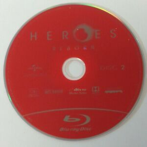 Heroes Reborn - Season 1 - Disc 2 - Blu Ray Disc Only - Replacement Disc