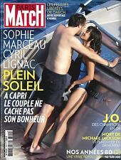 PARIS MATCH N°3509 18/08/2016 MARCEAU&LIGNAC/ JO RIO/ ANNEES 80/ JACKSON/ DAECH