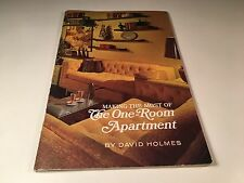 Making The Most Of The One Room Apartment Vintage Design Book 1959 David Holmes