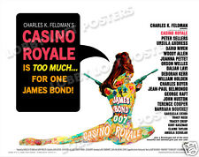 CASINO ROYALE LOBBY CARD POSTER HS 1967 JAMES BOND DAVID NIVEN PETER SELLERS