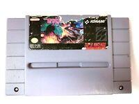 ***Gradius III 3 Super Nintendo SNES Game - Cleaned - Tested & Authentic!***
