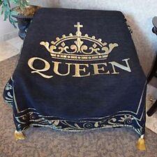 "Queen Throw Blanket (TH30) 48""X60"" 100% Cotton"
