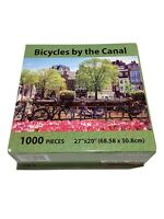 New Bicycles By The Canal Puzzle Passion Mate 1000 Piece Landscape Series