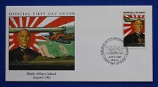 Marshall Islands (321) 1992 WWII: Battle of Savo Island Official FDC