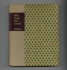 1945-48 Quaderni di Domus ILLUMINAZIONE Castiglioni MOLLINO Royere Bound 4-Vols.