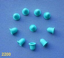 (2200) 20x Gummi für Zierleistenklammern  Klip für Zierleisten Clips, leisten